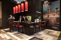 Exhibition stand design for FORBO FLOORING
