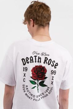 3f7252001636d9 camiseta kaotiko Rose T Shirt