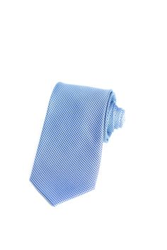 Vintage 100/% Silk Light Blue Tie with White Elephants  and Blue Trees