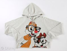 Chip N Dale Cropped Hoodie     Retailers: Mass Retailers  Available: August