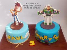 TOY STORY CAKE - Kathrin's Magical Cakes