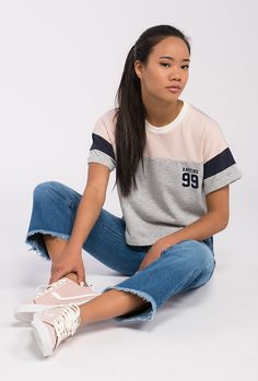 Buy T-Shirts by Kaotiko streetstyle e-Shop · T-shirts, sweatshirts, denim, shorts and skirts, trendy sneakers and cool accessories. Sport Fashion, Teen Fashion, Korean Fashion, Date Outfits, Outfits For Teens, Polo Design, Only Play, Polo T Shirts, T Shirts For Women