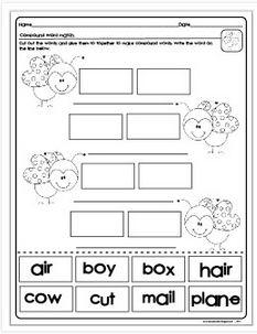 Classroom Freebies: Compound Words