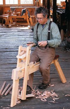 Hybrid Shaving Horse: Expert craftsman Tom Donahey shares his plans for an essential tool to work green wood.