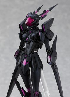 Max Factory Accel World: Black Lotus Figma Action Figure A Max Factory import From the anime series Smooth yet pose able joints Robot Concept Art, Armor Concept, Arte Robot, Accel World, Arte Cyberpunk, Female Armor, Robot Girl, Sci Fi Armor, Anime Figurines