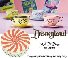 Disneyland Mad Tea Party Cup Set | Flickr - Photo Sharing!