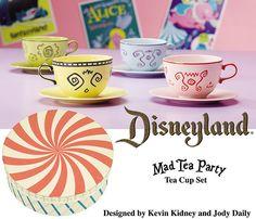 Disneyland Mad Tea Party Cup Set | Flickr - Photo Sharing!