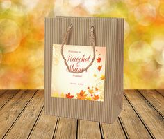 20 Fall Wedding Welcome Bags with Autumn by 4WeddingWelcomeBags