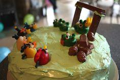 pantonejane.blogspot.com Angry Birds birthday cake