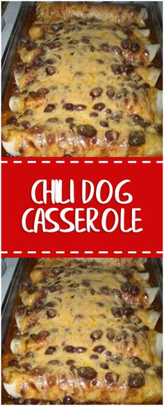 Ingredients 2 (15 oz) cans of chili with beans. 1 (16 oz) package of beef frankfurters. 10 (8 inch) flour tortillas. 1 (8 oz) package of shredded cheddar cheese. Directions In a baking dish, spread 1 can