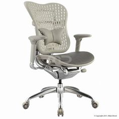 Ergo Body Task Chair - Grey - Buy Ergonomic Chairs & Ergonomic Chair Office - Milan Direct