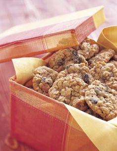 Oatmeal Cookies with Raisins, Dates, and Walnuts Photo at Epicurious.com - making these today!