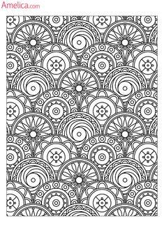 Арт терапия раскраски скачать бесплатно, картинки раскраски - антистресс распечатать: узоры и цветы