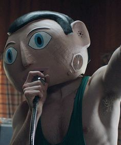 """Of all the acting challenges Michael Fassbender has faced, none quite compares to performing without the use of his face. That's precisely what's required in ""Frank,"" a weird and wonderful musical comedy about an oddball outsider ..."" http://variety.com/2014/film/reviews/sundance-film-review-frank-1201063014/"