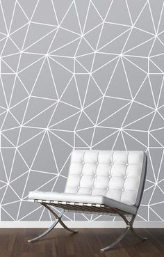 Kuvahaun tulos haulle wall mural wallpaper geometric grey
