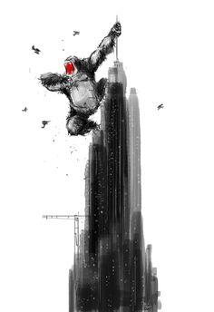 Kong. #pascalcampion #kingKong