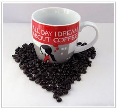 Coffee Dream. Human Bean Mug. Want! :(
