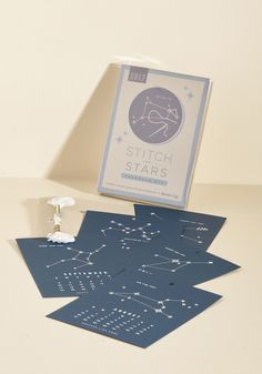 A glow-in-the-dark calendar kit with a different constellation to stitch for every month. 36 Amazing Gifts You Can Get On ModCloth Diy Calendar, Desk Calendars, Christmas List 2016, Unique Gifts, Best Gifts, Cat Themed Gifts, Best Friend Necklaces, Novelty Print, Stitch Kit