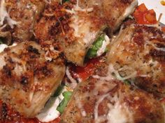 Things to do while wearing an apron...: White Eggplant Rollatini