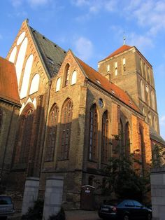 Hanseatic City of Rostock - German Architecture Forum / Nikolai Church, today houses used as a residence