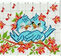 Cross-stitch for children: patterns Cross Stitch Heart, Cross Stitch Alphabet, Cross Stitch Flowers, Loom Beading, Beading Patterns, Embroidery Patterns, Modern Cross Stitch Patterns, Cross Stitch Designs, Cross Stitching