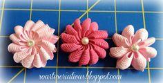 So Artes Criativas: Tutorial de flor de sianinha