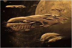 Concept Art for the Alien Movies To Come - Alien: Covenant Forum Alien Spaceship, Spaceship Design, Spaceship Concept, Concept Ships, Sci Fi Wallpaper, Alien Ship, Sci Fi Spaceships, Alien Concept Art, Aliens Movie