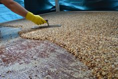 How to install epoxy natural stone flooring Everlast pebblestone is very easy to install. Full instructions and tool list needed is here: http://E.vrl.st/peb...