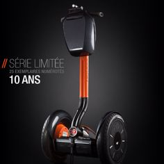 Segway 10th anniversary limited edition!!  The perfect combination of luxury and technology... By Segway France.