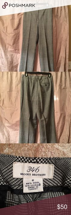 Brooks Brothers Dress Pants Brooks Brothers dress pants. Very pretty!! Size 6 but have been taken up to fit like a 4. Brooks Brothers Pants
