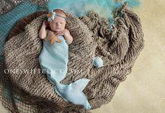 Little baby mermaid