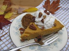 Gluten-free ginger snap cookies add spice and sweetness to this classic pie. Decadent and delicious - - gluten-free!