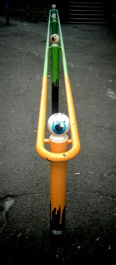 Cyklop - street art - aulnay sous bois (sept 2014)