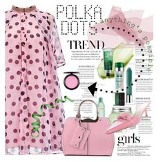 """""""So Dotty: Polka Dots"""" by lacas ❤ liked on Polyvore featuring MAC Cosmetics, Kate Spade and PolkaDots"""