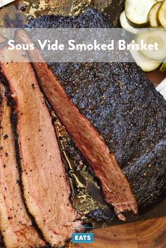 Sous vide is the key to consistently moist brisket with a smoky bark.