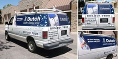 Dutch Window Cleaning. Having fun with this design.
