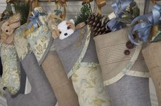 Christmas Stockings ... etsy.com