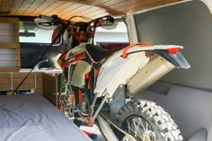 VW T4 T5 T6 Wohnmobil Camper Campingbus Ausbau Motorrad Motocross MX Dirtbike
