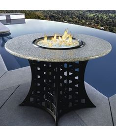 43 best fire pit table images outdoor fire pit table backyard rh pinterest com