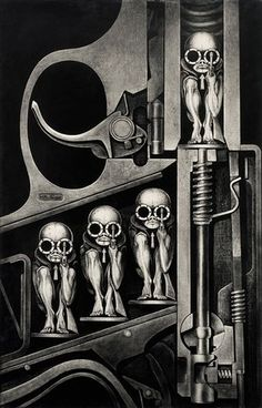 Beyond Alien: the disturbing psychedelic artwork of HR Giger