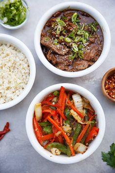 Mongolian Beef & Veggies