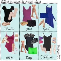 I hope this helps you know what you should wear to different dance classes! Check out my polyvore account! You can find me @liviegirl06