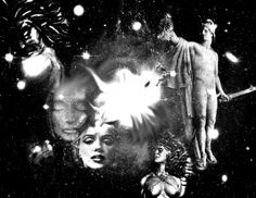 """FULL MOON at 26 SCORPIO/TAURUS, 10:16am EST, 7:16am PST, 3:16pm GMT Image: Web Collage for Algol created by Dana Hunt. This Full Moon at 26 Taurus is aligned with ALGOL, one of the most powerful stars in the sky. Algol, """"The Demon"""" Star in the constellation of Perseus, marks the Eye of Medusa, the mythic …"""