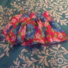 Hollister Skirt Colorful Flower Hollister Skirt Hollister Skirts Mini