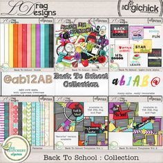 Back To School: Collection by LDrag Designs