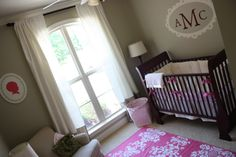 serene baby room