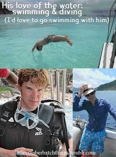 I'd pretend to drown and hope he knows CPR.... <--Repinned for comment! : D  Good idea.