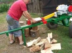 Outdoor Power Equipment, Videos, Youtube, Facebook, Log Splitter, Tools, Crates, Blue Prints, Atelier