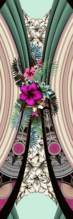 ADRIANA BARRA - Teahupo'o - GABRIEL.AZEVEDO Twitter Backgrounds, Summer Flowers, Beautiful Patterns, Flower Power, Print Patterns, Iphone Wallpaper, Digital Prints, Cool Art, Abstract