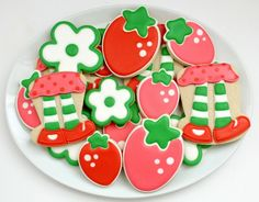 Final Strawberry Shortcake Cookies